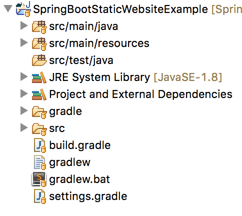 How to create a website with Spring Boot and serve static